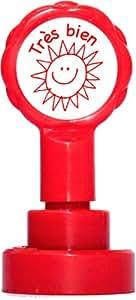 Teacher Stamps BR013CM Tampon Auto-encreur pour Enseignant très bien Couleur aléatoire