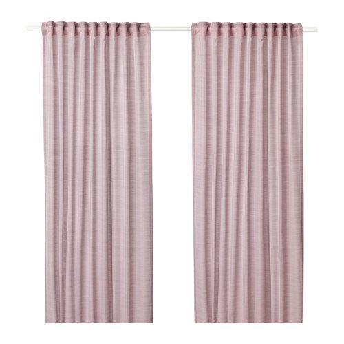 Ikea Hilja Gardinen 1Paar Pink 303.907.43Größe 57x 98½