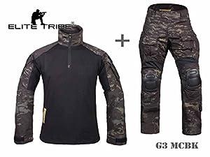 Airsoft militaire tactique costume Combat Gen3 uniforme Chemise Pantalon MCBK