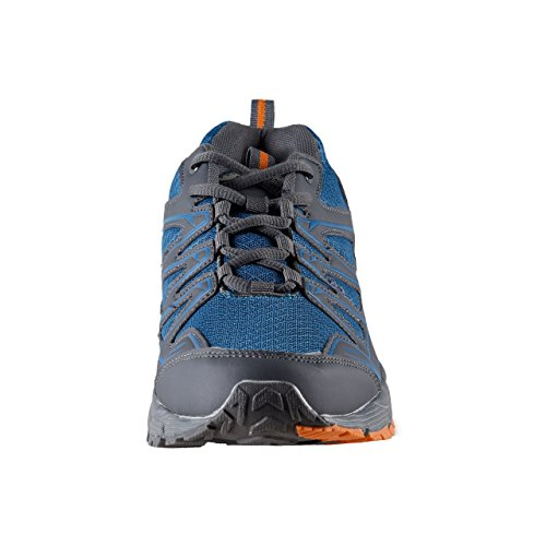 Air Star Herren Sportschuhe grau/blau/orange multi Bunt