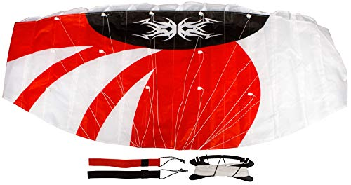 Airow Grial 140 Lenkmatte, Rot/Weiß/Schwarz, One Size