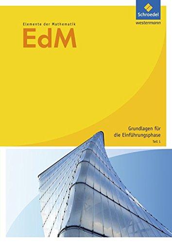 Elemente der Mathematik SII / Arbeitshefte Grundlagen für die Einführungsphase: Elemente der Mathematik SII - Ausgabe 2010: Arbeitsheft Vertiefungsfach Teil 1