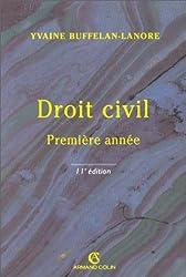 DROIT CIVIL. Première année, 11ème édition