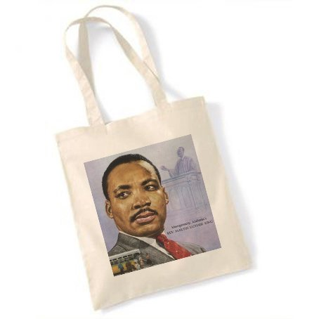 Martin Luther King Size 5 Naturel Sac fourre-tout