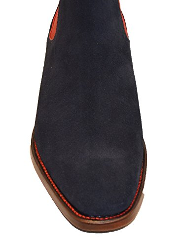 Rosso Blue Man Navy Stivali Ovest Jeffery wXq5RF7xn