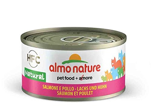 Almo Nature Lachs und Huhn 24x70g