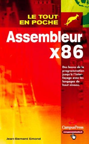 Assembleur x86 par Jean-Bernard Emond