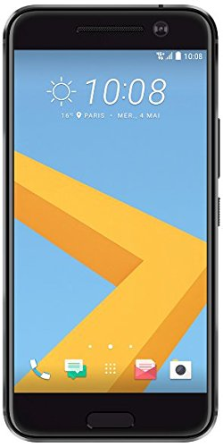 HTC 10 - Smartphone libre Android (5.2', 12 MP, 4 GB RAM, 32 GB ROM, 4G), Color Negro