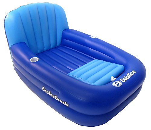 Solstice Cooler Couch Inflatable Pool Lounger by Swimline