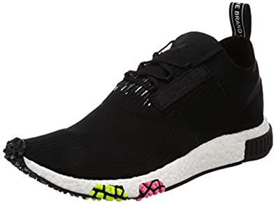 adidas NMD_Racer PK, Chaussures de Fitness Homme, Noir (Negbas/Negbas/Rossol 000), 40 EU