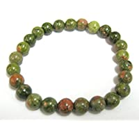 Wunderschöne Unakit Power Perlen Armband Edelstein Fashion Wicca Jewelry Crystal Healing Geschenk Wellness Meditation... preisvergleich bei billige-tabletten.eu