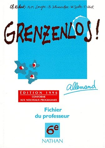 Grenzenlos, 6e (édition 1996). LIvre du professeur