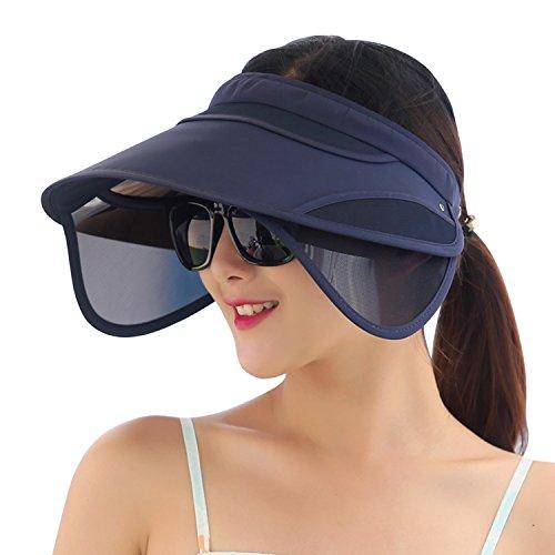 Libertepe Sommer Sun Visor Poker Hat Golf Cap Headband Mützenschirm zum Golfen, Pokern und als...