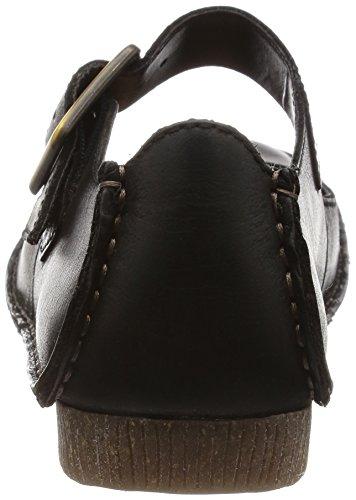 Clarks Janey June, Mocassins femme Noir (Black Leather)