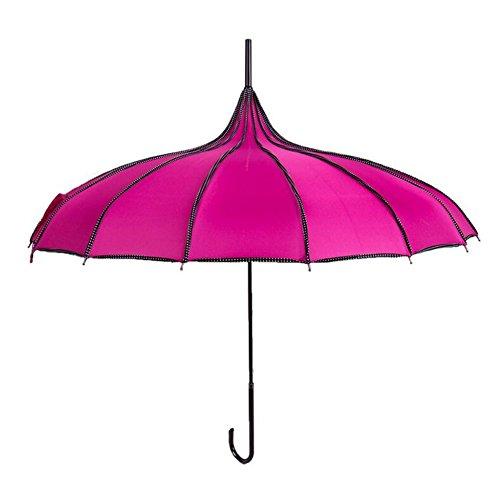 bpblgf New Paraguas Sombrilla Nupcial Boda Mujer Pagoda D, 03