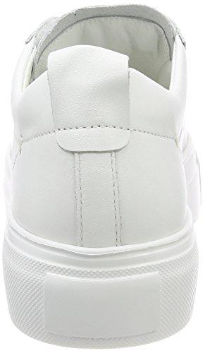 Kennel und Schmenger Damen Big Sneaker Weiß (Bianco Sohle Weiß)