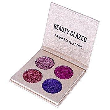 Professionnel Highlighter Palette Smokey Ombre Fards à Paupières Glitter Shimmer Imperméable et Maquillage Eyeshadow Palette #1