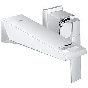 Grohe Allure Brilliant – Grifo de lavabo empotrado Cuerpo liso tamaño S (montaje en pared de dos agujeros) Ref. 19781000