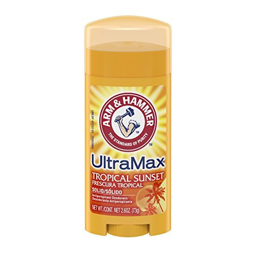 arm-hammer-ultra-max-tropical-sunset-deodorant-antiperspirant-solid-oval-26-ounce-by-arm-hammer