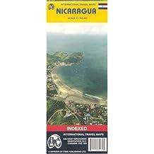 Nicaragua (Travel Reference Map)