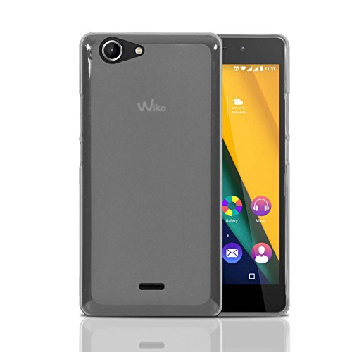 Wiko Pulp Fab 4g Hülle, Ordica DE®, Pulp Fab Case [Jelly Case] Dünn Clear Back Cover Silikon Ultra Slim Case