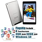 Best Window Tablets - NUVISION 8-Inch FHD Touchscreen Tablet Flagship Edition Intel Review