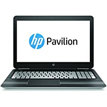 HP Pavilion Notebook 15-bc004ns - Ordenador Portátil de 15,6 FullHD (Intel Core i7-6700U, 8 GB RAM, 1 TB HDD, NVIDIA GeForce GTX 960M 4 GB GDDR5, Windows 10); Plata Natural - Teclado QWERTY español