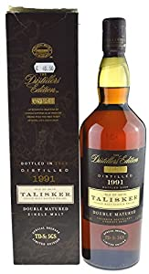 Rarity: Talisker Whisky Double Matured 1.0l vintage 1991 bottled 2005 with 45.8% alc./vol. incl. gift box - Single Malt Scotch Whisky by Talisker