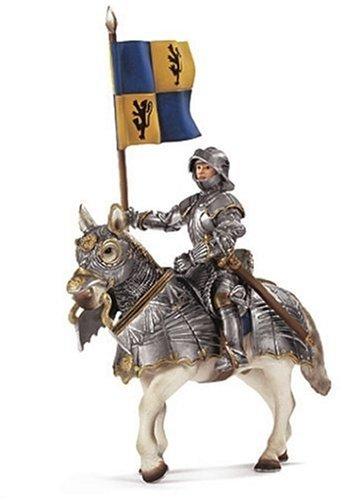 Preisvergleich Produktbild Schleich 70008 - Fahnenträger auf Pferd