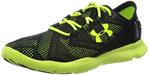 Under Armour SPEEDFORM APOLLO VENT Herren Laufschuhe Schwarz (Black/High-Vis Yellow/High-Vis Yellow 002)