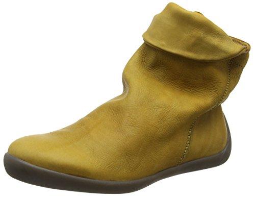 Softinos Damen NAT332SOF Kurzschaft Stiefel Braun (Camel)