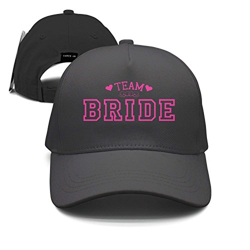 Wolanim Team Bride Unisex Baseball Cap Snapback Hip Hop Caps Fitted Sport Sun Hats (Usa Cap Team Fitted)