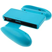 NF&E Comfort Grip Holder Gaming Bracket Cover For Nintendo Switch Joy-Con Controller Blue
