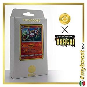 Darmanitant 9/70 Holo Reverse - #myboost X Sole E Luna 7.5 Trionfo dei Draghi - Box de 10 Cartas Pokémon Italiano