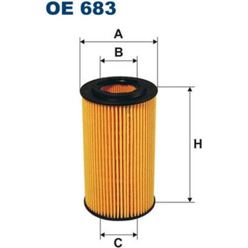 Preisvergleich Produktbild FILTRON OE683 Ölfilter