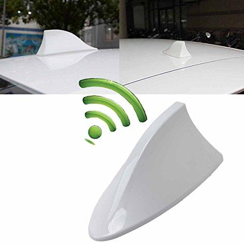 POSSBAY Universel Voiture Auto Antenne Requin Nageoire Radio Signal Automatique pour SUV Camion Van