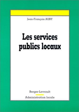 Les services publics locaux