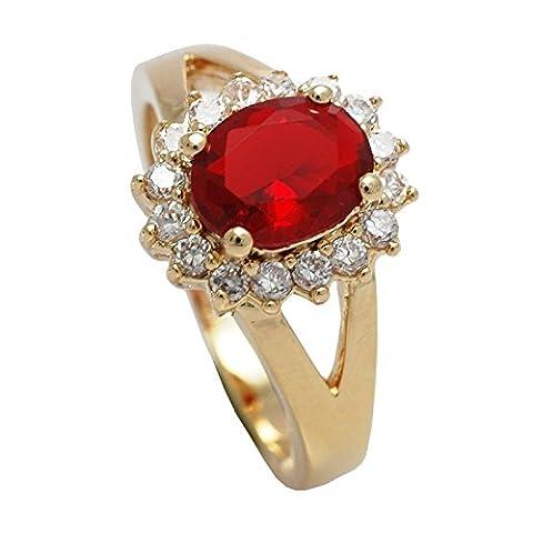 Women's Eye Catching 18kt Genuine Gold Filled, UK Guarantee: 3