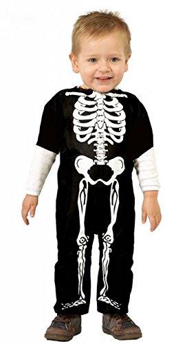 Halloween Skelett Kostüm für Babys und Kleinkinder (Skelett Kleinkind Kostüme)