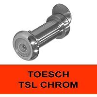 z.B verchromt T/ÖSCH AK-TSC-14-CHROM Abdeckklappe f/ür T/ürspione mit Durchmesser 14 mm T/ÖSCH TSC-14