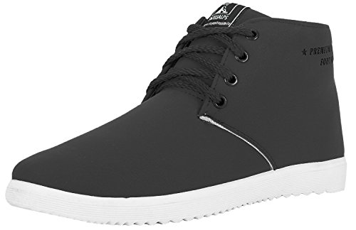 Globalite Men's Casual Shoes Roadster Grey -8  available at amazon for Rs.383