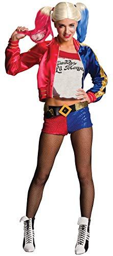 Rubie's Offizielles - Harley Quinn Damen-Kostüm - Suicide Squad, Erwachsene, S (6-10)