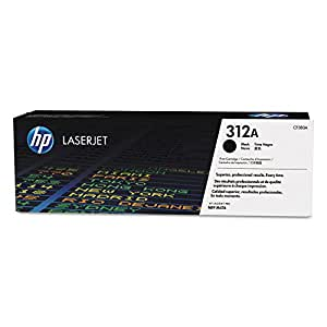 HP Toner Laser Original N° 312A CF380AC 2400 Pages Noir