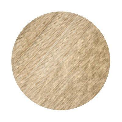Ferm Living Wire Basket Top Oiled oak - Medium - Ø50 cm