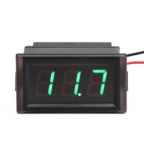 DROK® Impermeabile DC3.3-30V Voltmetro digitale, display misuratore di tensione con