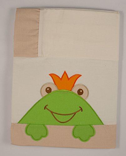 Set di lenzuola: Beige/Verde Per Culla da 60x 120cm 100% cotone