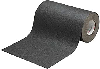 3M 610 Anti Skid Tape, 24mm X 18.2m, Black (Pack of 3 rolls)