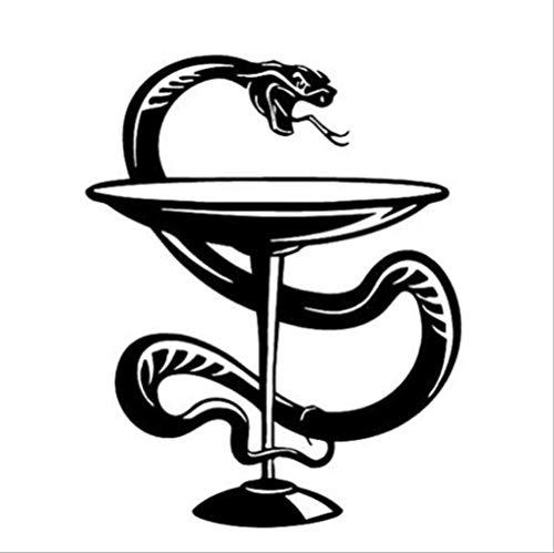 Snake Cup Carving Entfernt Persönlichkeit Wand Paste Wohnzimmer Schlafzimmer Sofa Hintergrund Wand 13.7X17.2Cm Zweig Cup