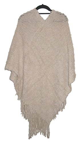 Closet Full of Clothing - Poncho -  donna Cream
