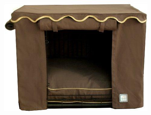 BowhausNYC Teak Box, klein, braun -